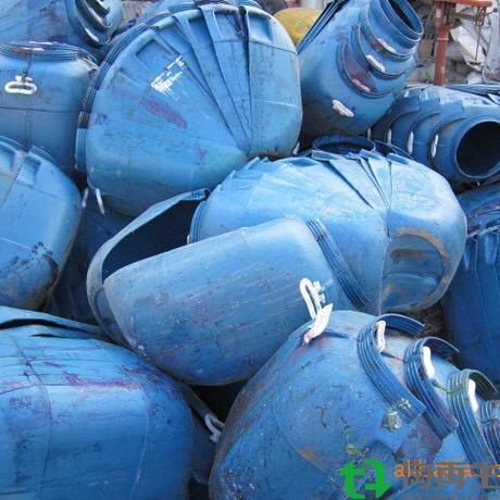HDPE大蓝桶,小蓝桶粉碎料