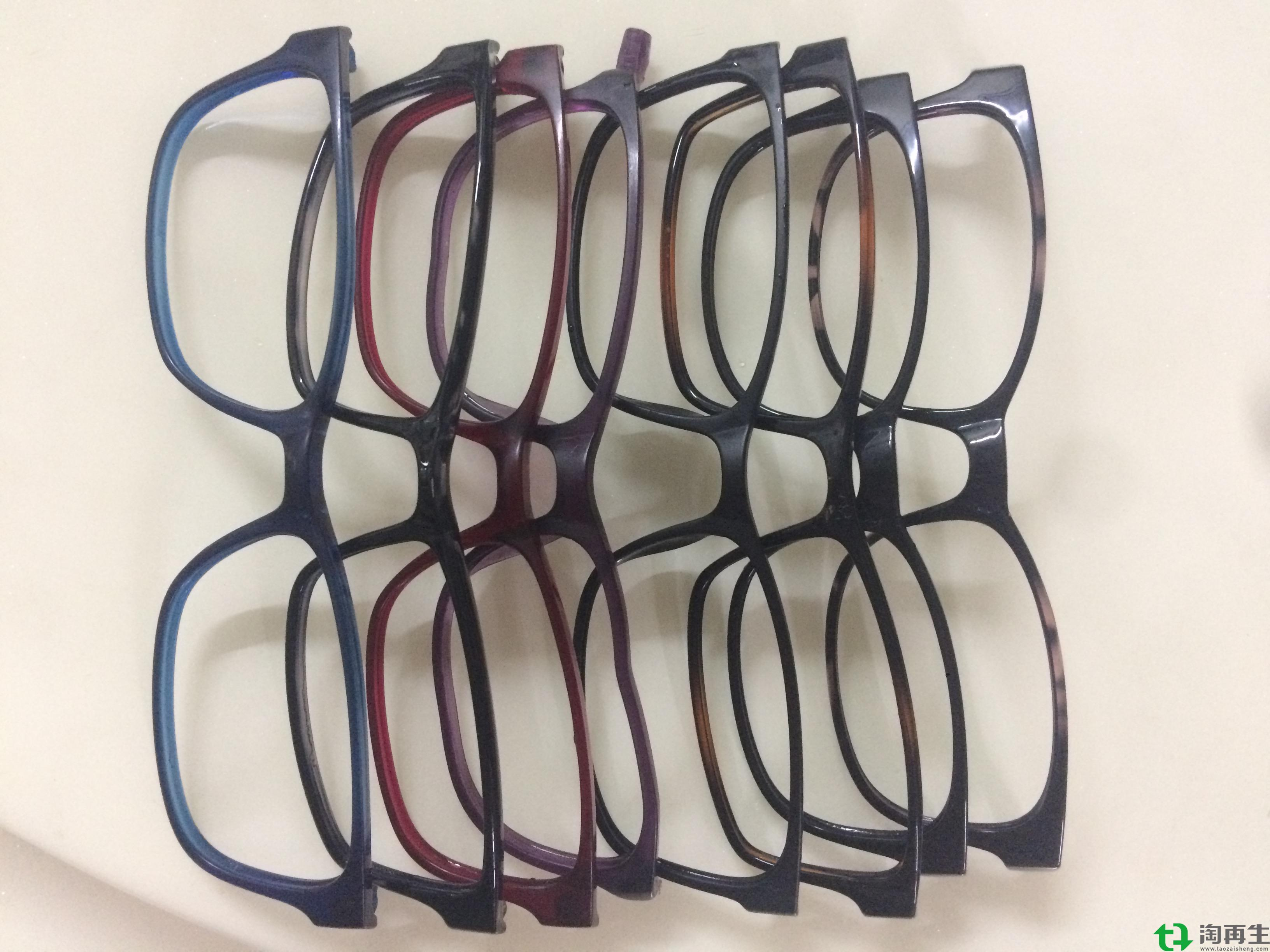 PA12-TR90眼镜废料黑色