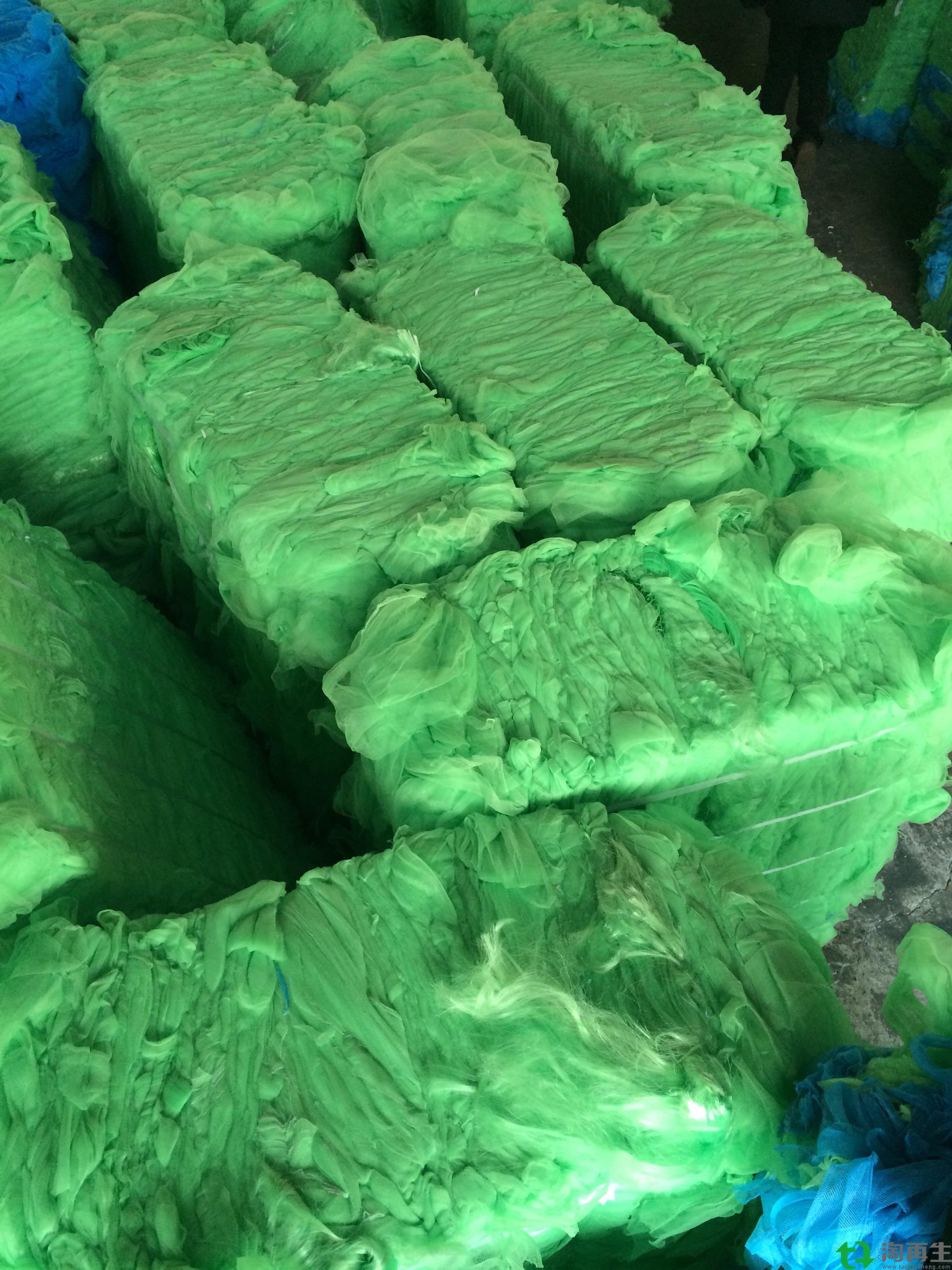 供应HDPE拉丝级绿色再生颗粒