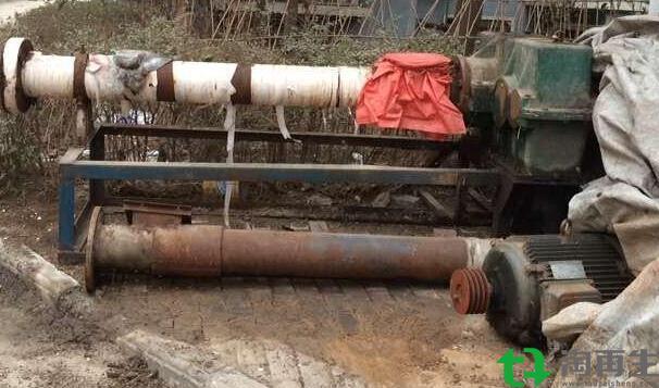 纸厂颗粒造粒机250.210机器两套