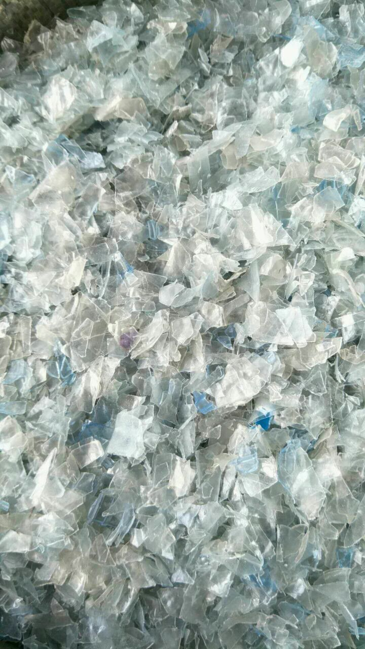 PET冷水蓝白甁片