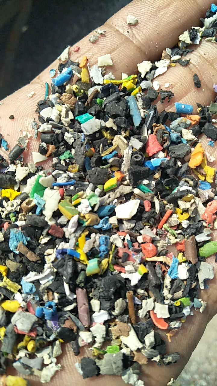 PVC进口铜米破碎料